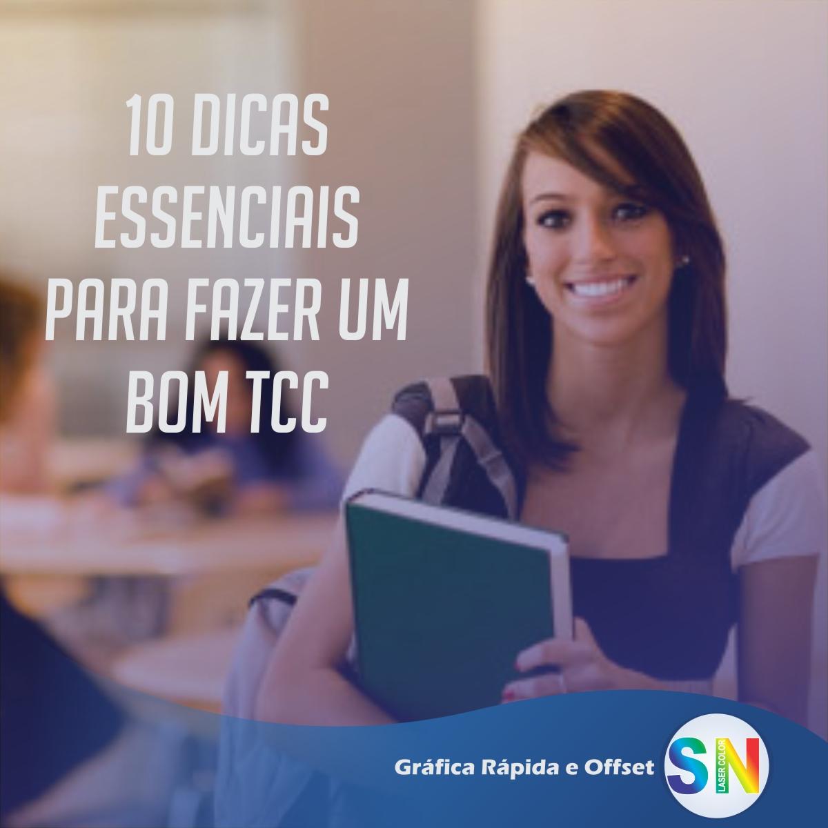 10 dicas essenciais para fazer um bom TCC