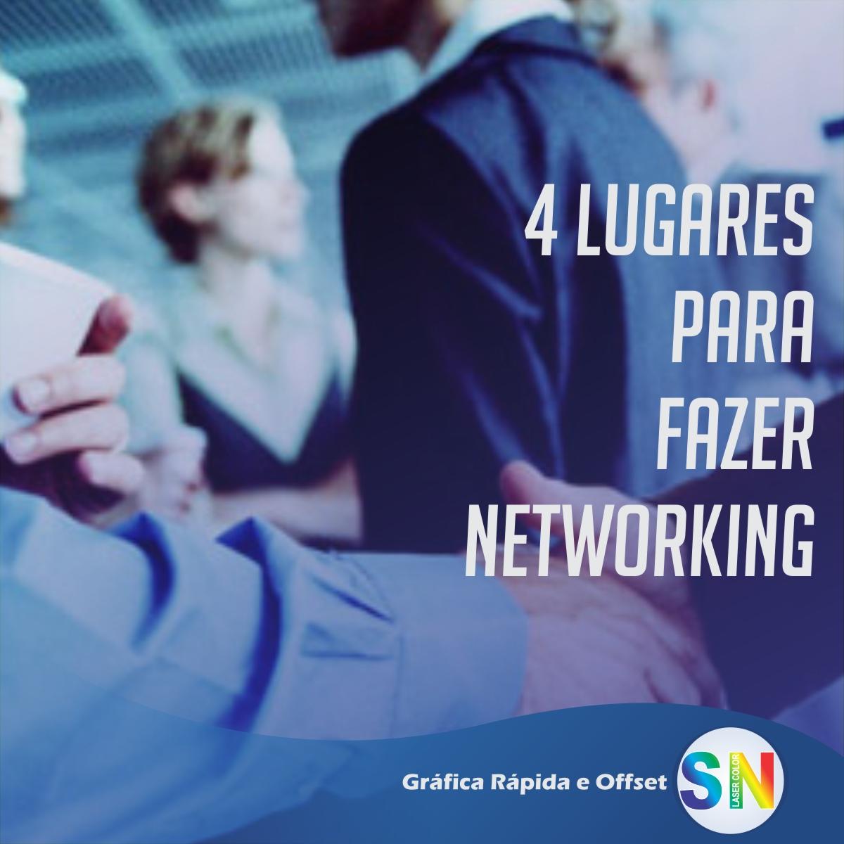 4 lugares para fazer networking